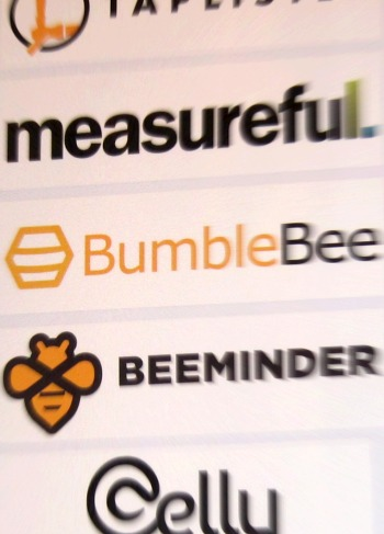 BumbleBee's sign at it's Global HQ along side other startups.
